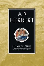 NUMBER NINE or The Mind Sweepers by A. P. Herbert