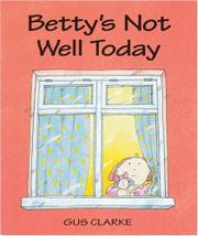 Cover art for BETTY'S NOT WELL TODAY