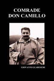 COMRADE DON CAMILLO by Giovanni Guareschi