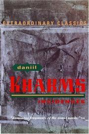 INCIDENCES by Daniil Kharms