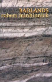 BADLANDS by Robert Minhinnick