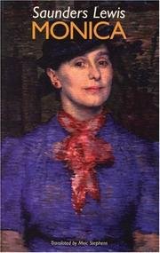 MONICA by Saunders Lewis