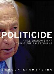 POLITICIDE by Baruch Kimmerling
