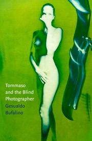 Cover art for TOMMASO AND THE BLIND PHOTOGRAPHER