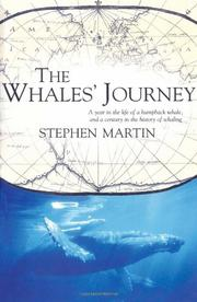 THE WHALES' JOURNEY by Stephen Martin