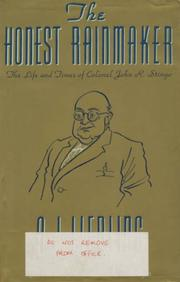 THE HONEST RAINMAKER by A.J. Liebling