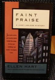 FAINT PRAISE by Ellen Hart