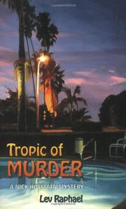 Cover art for TROPIC OF MURDER
