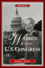 WOMEN OF THE U.S. CONGRESS by Isobel V. Morin