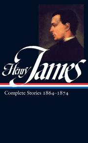 HENRY JAMES by Henry James
