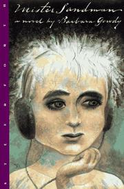 MISTER SANDMAN by Barbara Gowdy