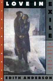 LOVE IN EXILE by Edith Anderson