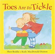 Book Cover for TOES ARE TO TICKLE