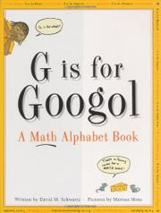 Cover art for G IS FOR GOOGOL