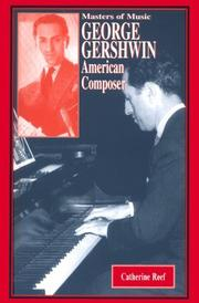 Cover art for GEORGE GERSHWIN