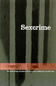 SEXCRIME by Cecilia Tan