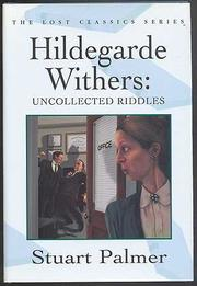 HILDEGARDE WITHERS by Stuart Palmer