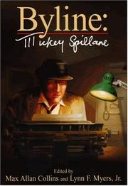 Cover art for BYLINE: MICKEY SPILLANE