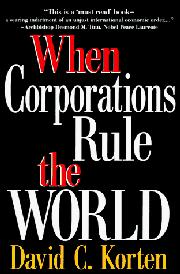 Cover art for WHEN CORPORATIONS RULE THE WORLD
