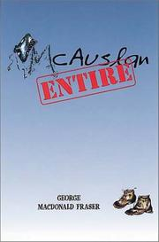 MCAUSLAN ENTIRE by George MacDonald Fraser