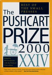 THE PUSHCART PRIZE, XXIV by Bill Henderson