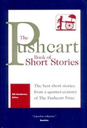 THE PUSHCART BOOK OF SHORT STORIES by Bill Henderson