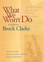 WHAT WE WON'T DO by Brock Clarke