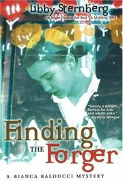 Cover art for FINDING THE FORGER
