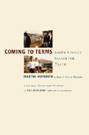 COMING TO TERMS by Martin Meredith
