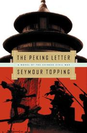 Book Cover for THE PEKING LETTER