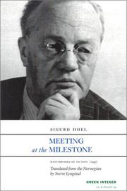 Cover art for MEETING AT THE MILESTONE