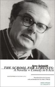 THE SCHOOL FOR ATHEISTS by Arno Schmidt