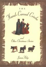 Book Cover for THE HAND-CARVED CRECHE