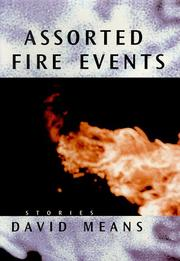 Cover art for ASSORTED FIRE EVENTS