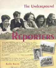 Cover art for THE UNDERGROUND REPORTERS
