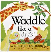 Book Cover for WADDLE LIKE A DUCK!