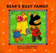 BEAR'S BUSY FAMILY by Stella Blackstone