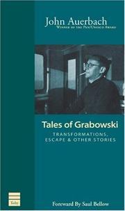 TALES OF GRABOWSKI by John Auerbach