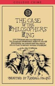 THE CASE OF THE PHILOSOPHER'S RING by Randall Collins