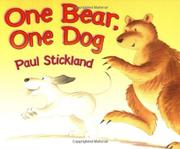 Cover art for ONE BEAR, ONE DOG