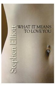 Book Cover for WHAT IT MEANS TO LOVE YOU