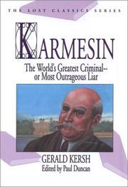 KARMESIN by Gerald Kersh