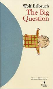Book Cover for THE BIG QUESTION