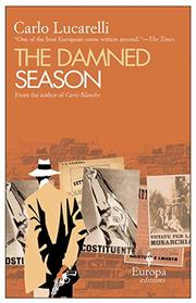 Cover art for THE DAMNED SEASON
