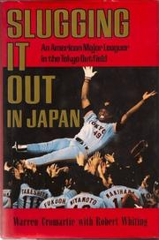 Book Cover for SLUGGING IT OUT IN JAPAN