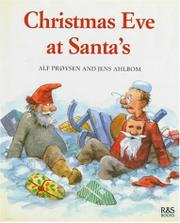 Cover art for CHRISTMAS EVE AT SANTA'S