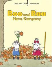 Cover art for BOO AND BAA HAVE COMPANY