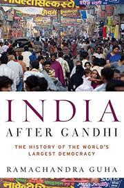 Cover art for INDIA AFTER GANDHI