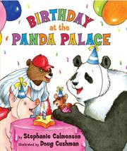 Cover art for BIRTHDAY AT THE PANDA PALACE