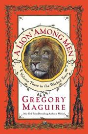 Cover art for A LION AMONG MEN